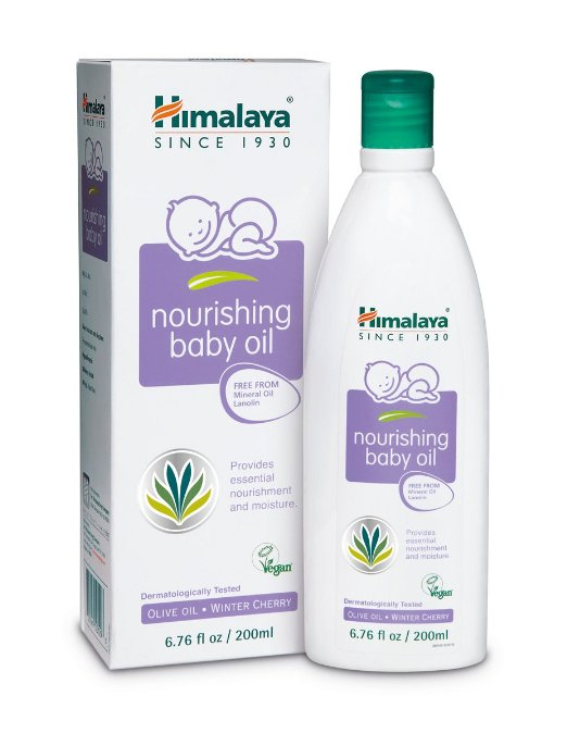 Himalaya Herbal Healthcare Baby Massage Oil