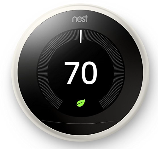 Google Nest 3rd Generation Learning Thermostat – Programmable, WiFi App & Works with Amazon Alexa