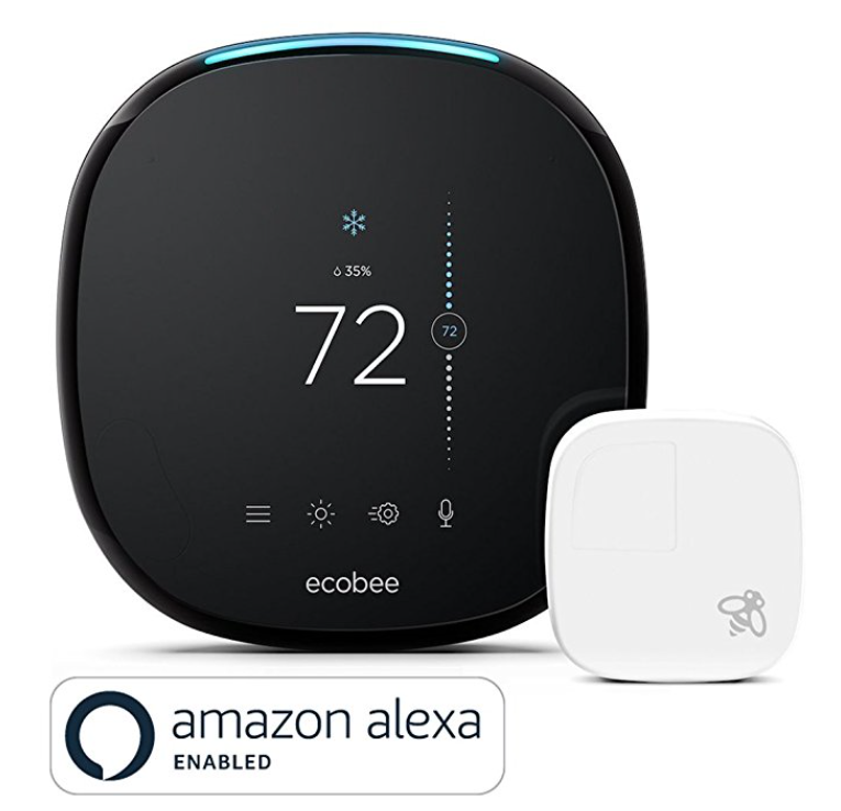 ecobee4 Alexa-Enabled Thermostat