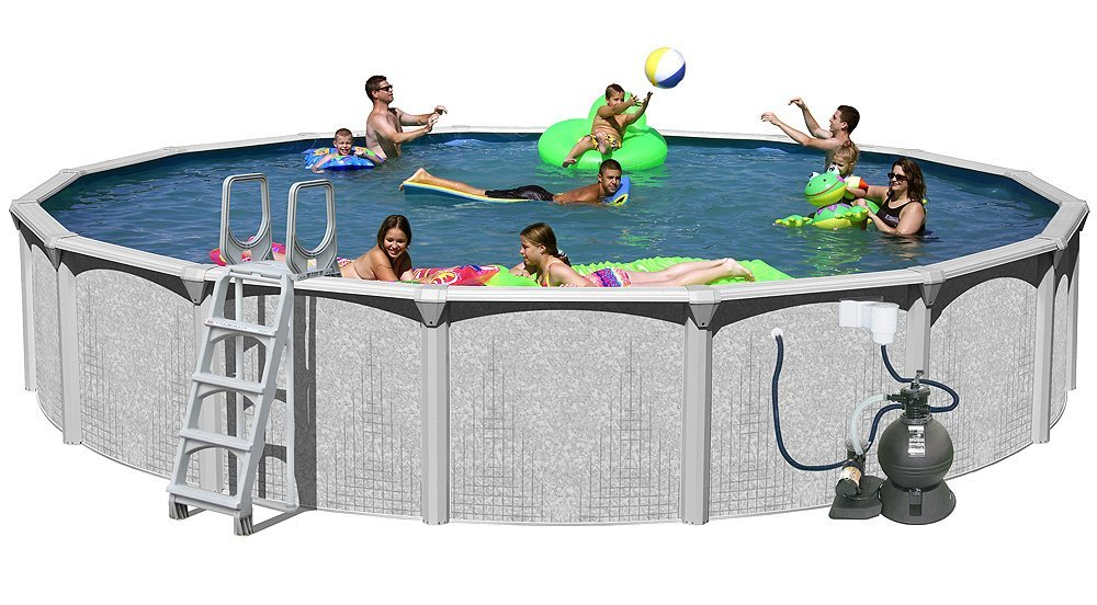 Splash Pools Above Ground Swimming Pool Set