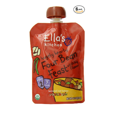 Ella's Kitchen Organic Stage 2 Pouches