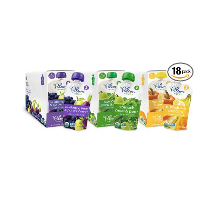 Plum Organics Second Blends Baby Food