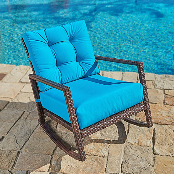 Suncrown Outdoor Patio Rocking Chair