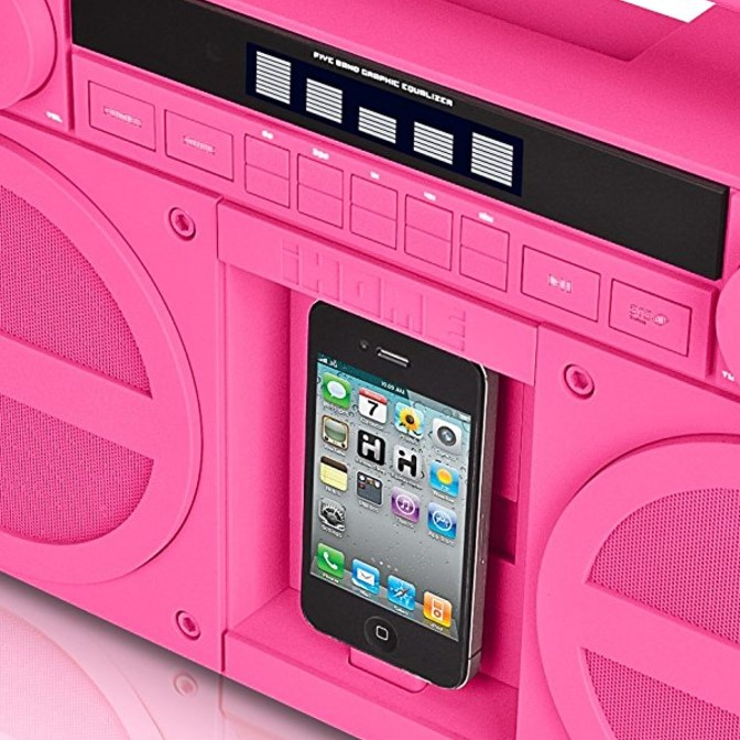 iHome iPod/iPhone Boombox