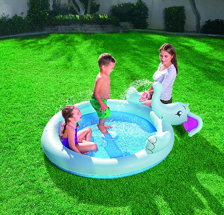Bestway Inflatable Elephant Spray Pool