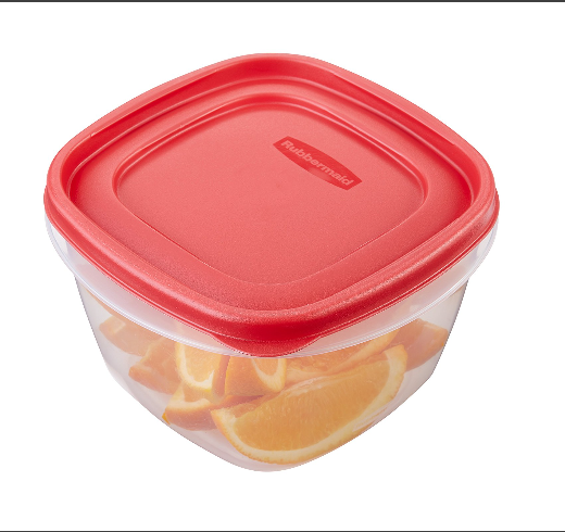Rubbermaid Easy Find Lids Food Storage Container – Multiple Color and Set Size Options