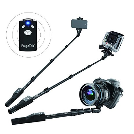 Fugetek Multi-Use Selfie Stick with Remote