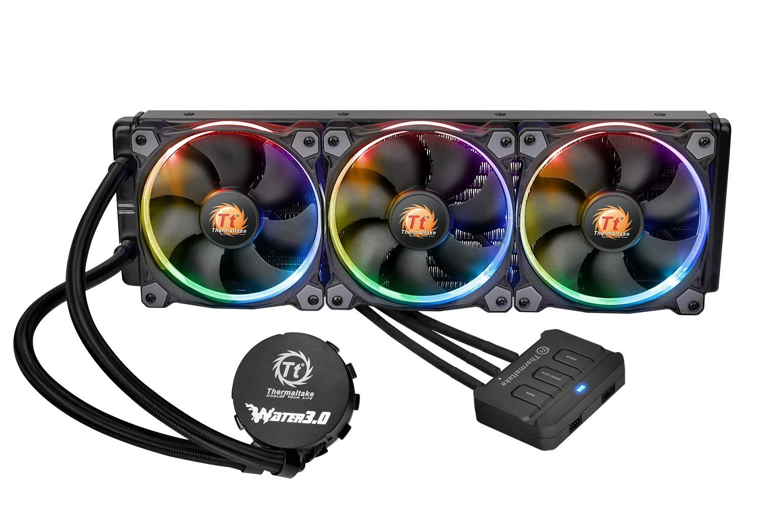 Thermaltake Water 3.0 Riing RGB 360 CPU Cooling Fan