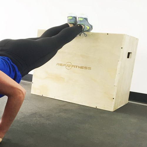 Rep Fitness 3-in-1 Wood Plyo Box