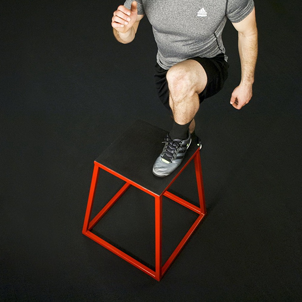 j/fit Stacking Plyo Box Set with 4 Heights