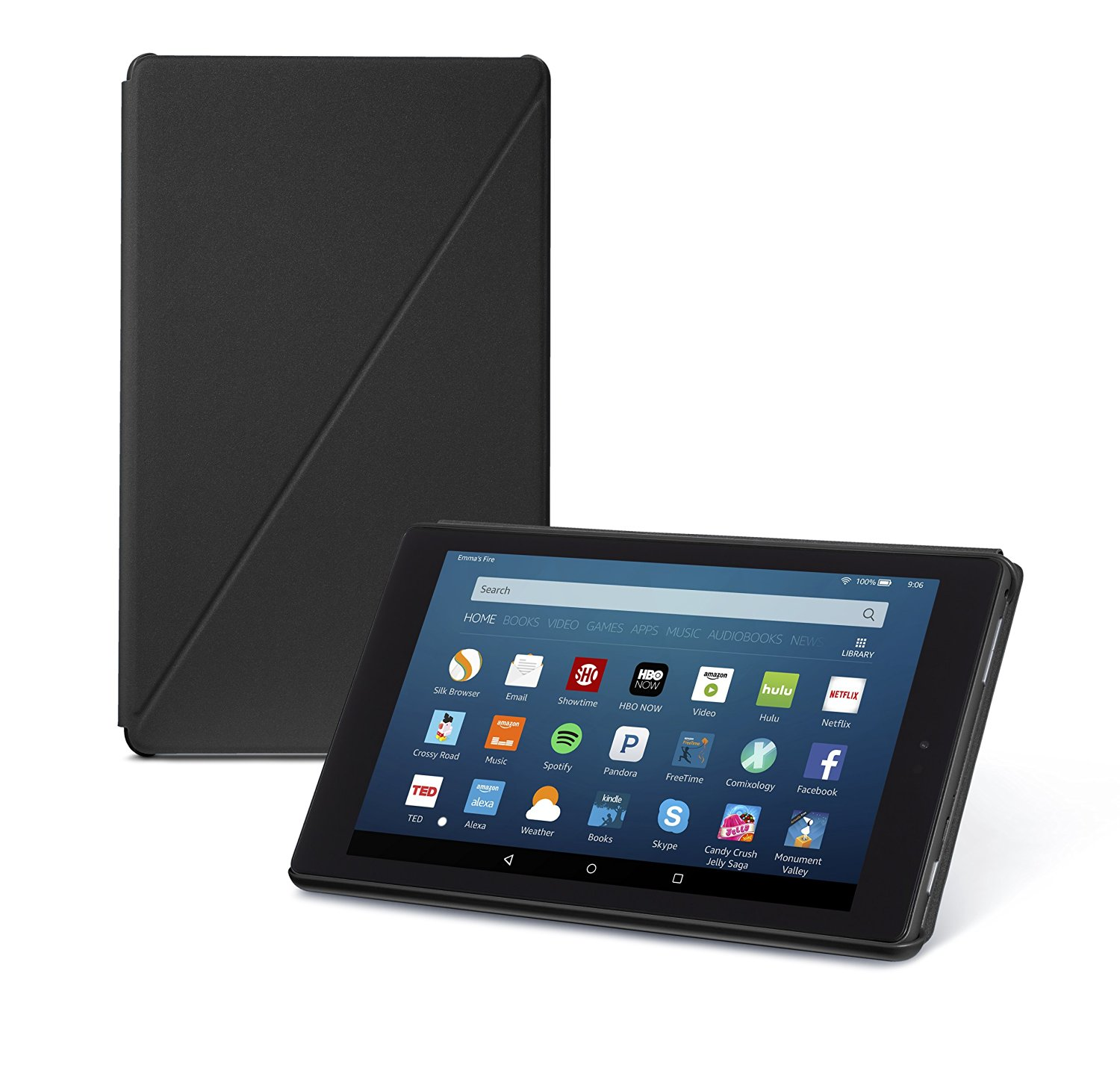 Amazon All-New Amazon Fire HD 8 Tablet Case. 6th Generation, Available in 4 Colors, Slim Design