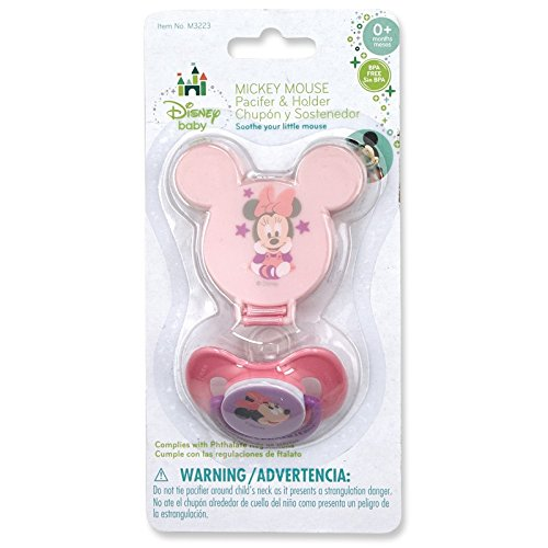 Disney Minnie Mouse Pacifier (& Other Characters)