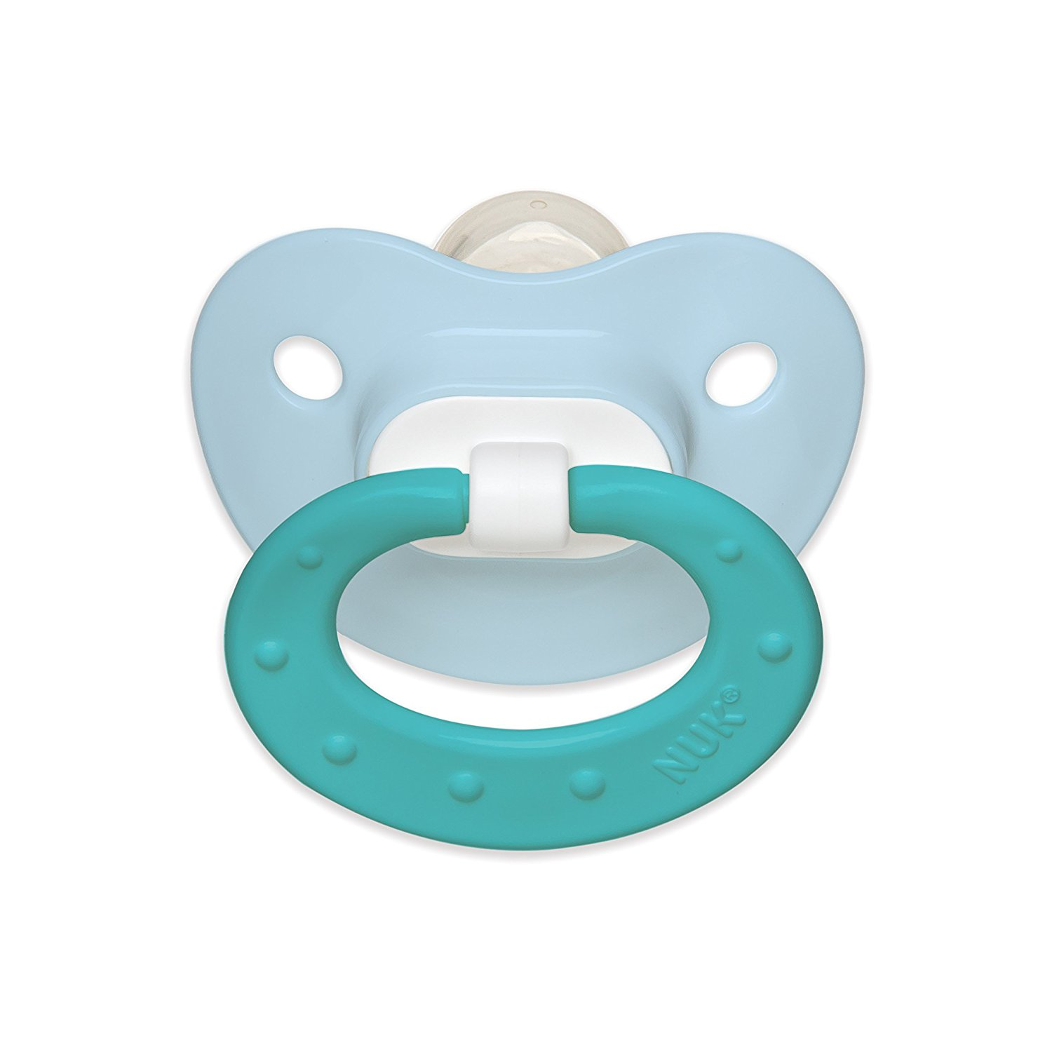 Nuk Juicy Silicone Orthodontic Pacifier - Juicy Puller Infant Pacifier, Variety of Age Ranges,  Colors and Designs Available