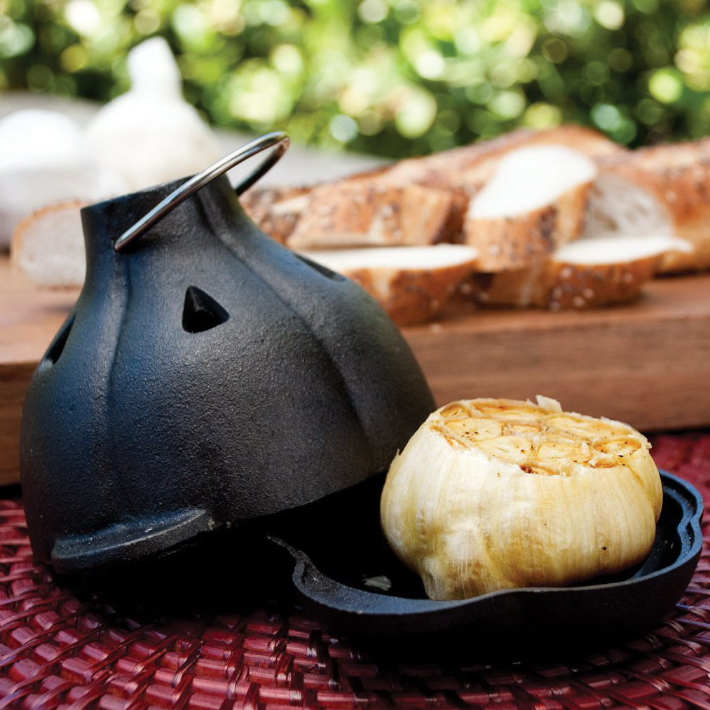 Charcoal Companion Garlic Roaster & Squeezer Set
