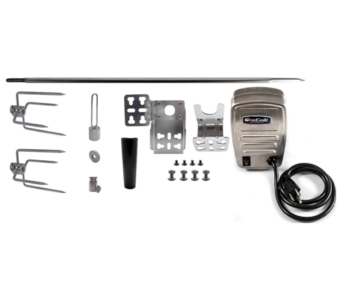 OneGrill Universal Rotisserie Grill Rotisserie Kit
