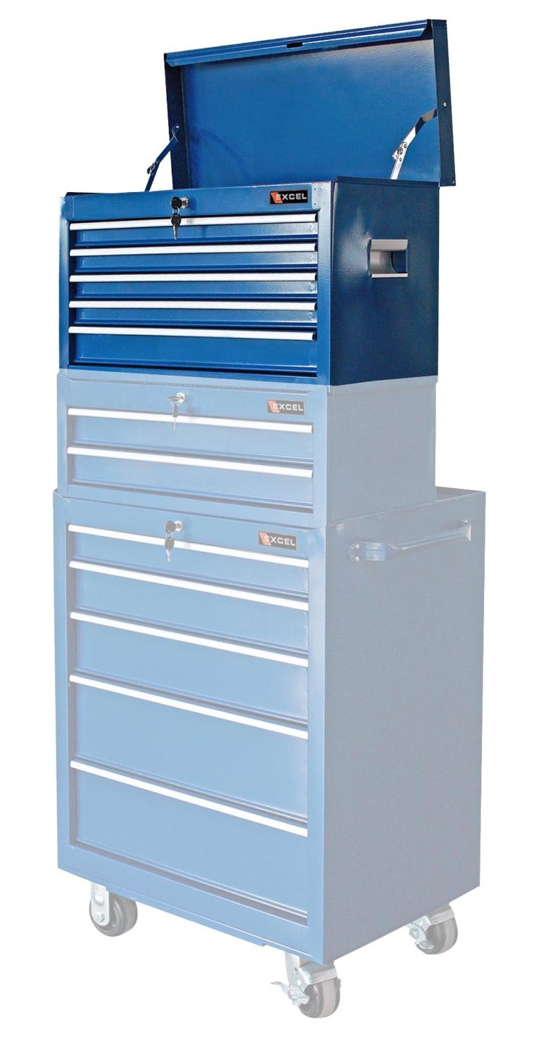Excel 5-Drawer Metal Tool Chest