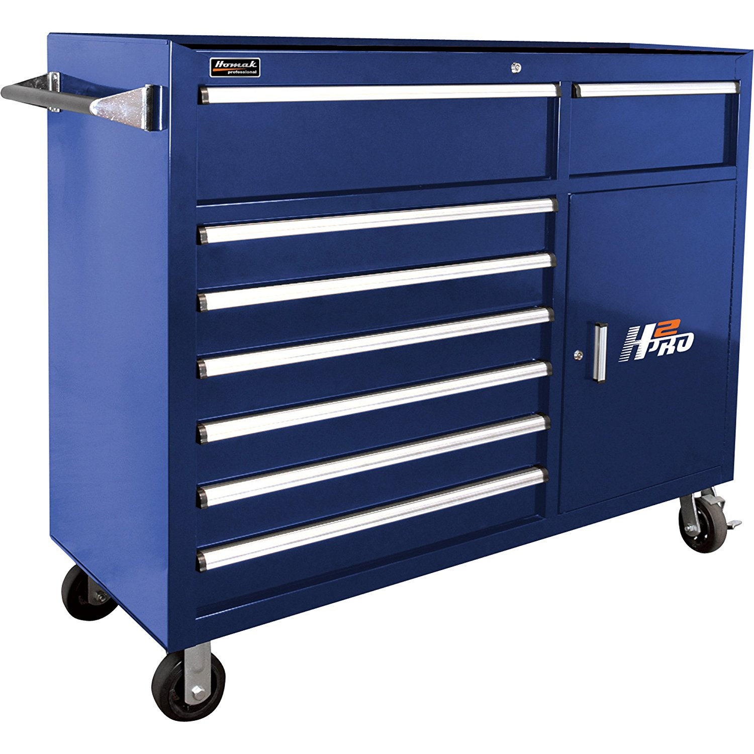 H2PRO Series 56-Inch 8-Drawer Roller Cabinet
