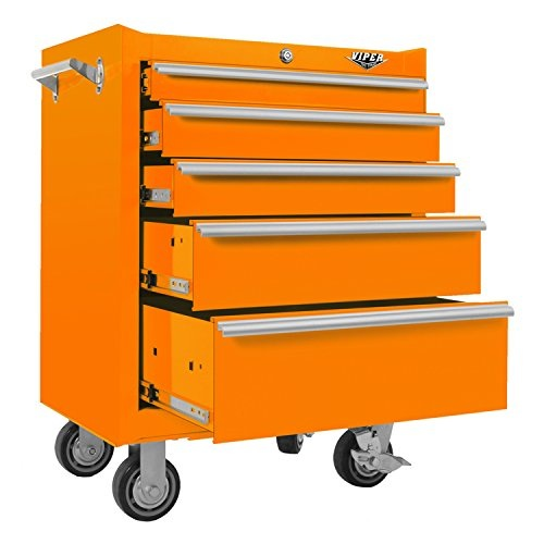 viper tool storage 26inch 5drawer rolling tool chest