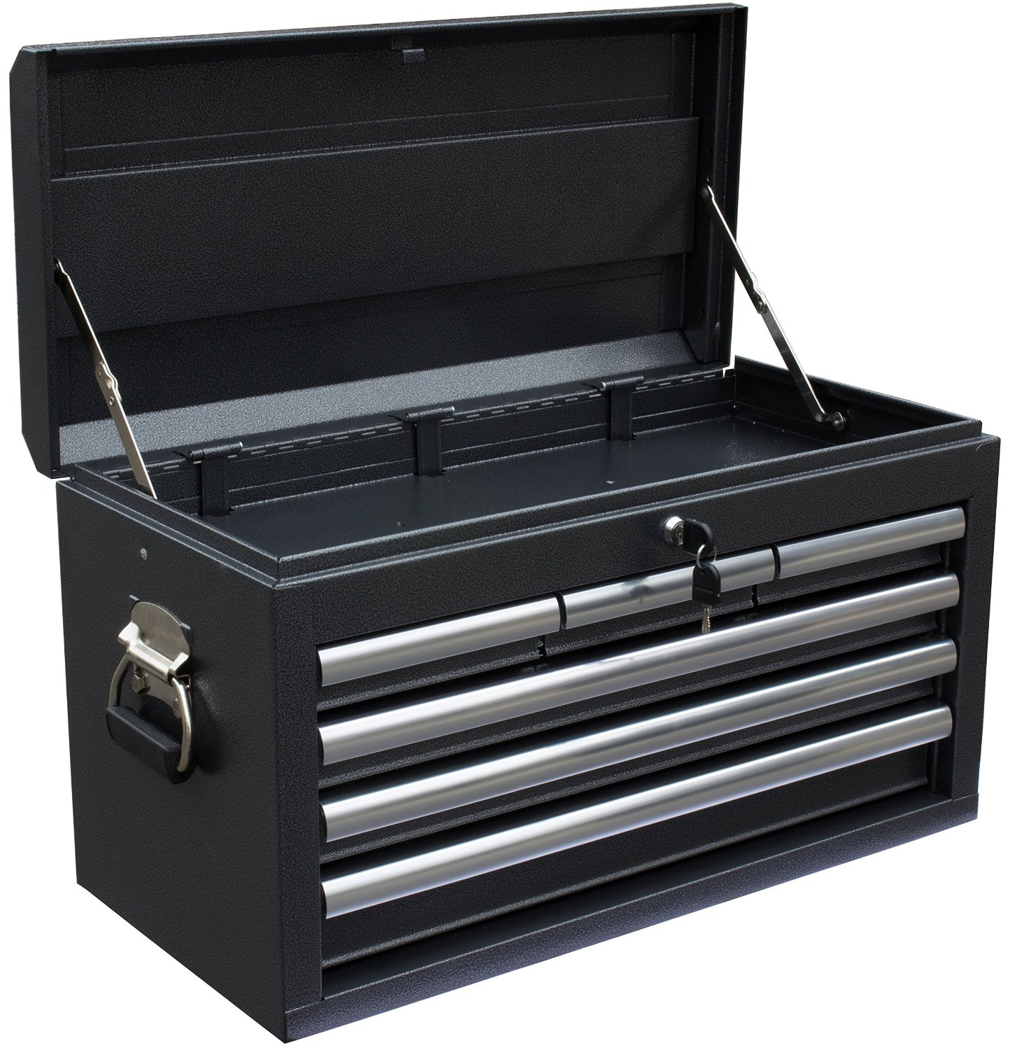 WEN 26-Inch Silver 6-Drawer Tool Chest