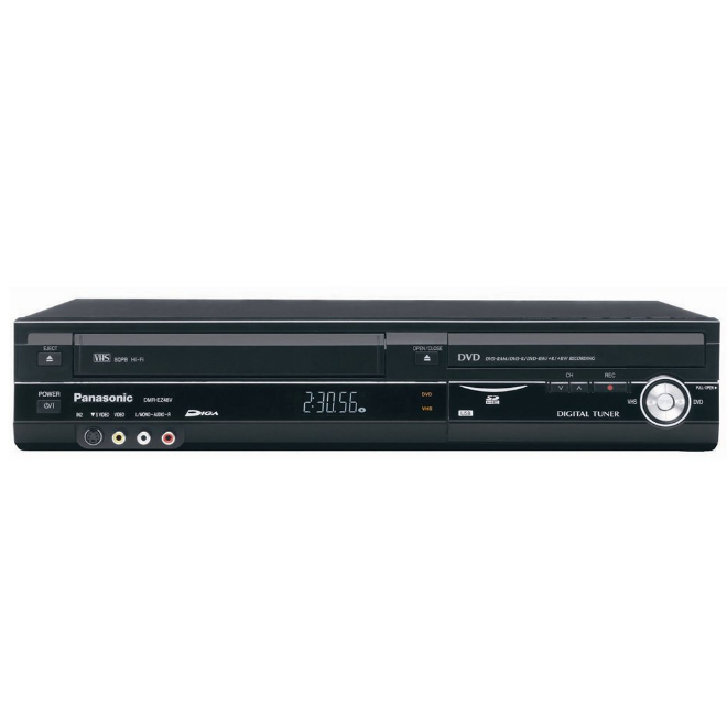 Panasonic DMR-EZ485VK Progressive Scan DVD Recorder and VCR