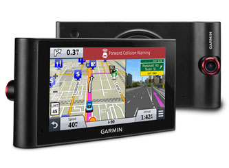 Garmin nüviCam™ Navigator w/ Built-In Dash Cam, Driving Alerts, Lifetime Maps & Traffic