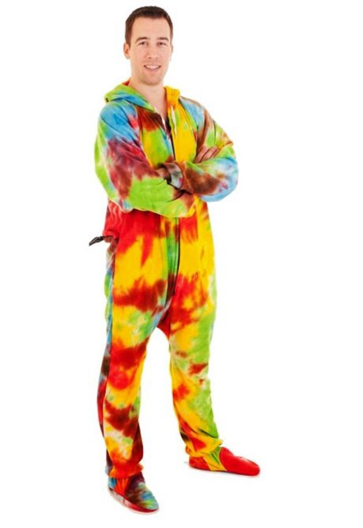 Forever Lazy Unisex Footed Onesie