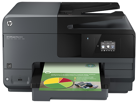 HP Officejet Pro Wireless Fax Machine, Color Photo Printer, Scanner & Copier