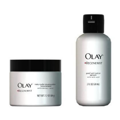 Olay Regenerist Instant Fix Exfoliate and Renew System