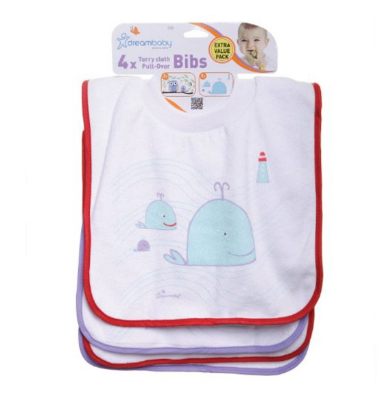 Dreambaby Pullover Bibs