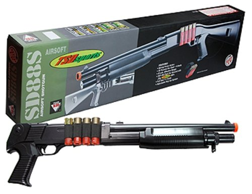 TSD Sports Airsoft Single-Shot Shell-loading Pump Action Shotgun