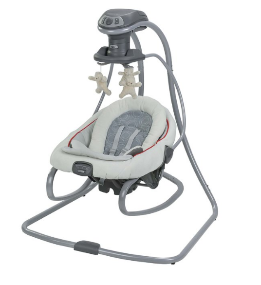 Graco DuetConnect™ LX Swing and Bouncer – Available in 7 Colors