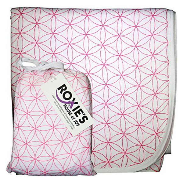 Roxie's House of Joy Babies Everything Soft Cotton Muslin Blanket for Boys & Girls – Available in 5 Colors