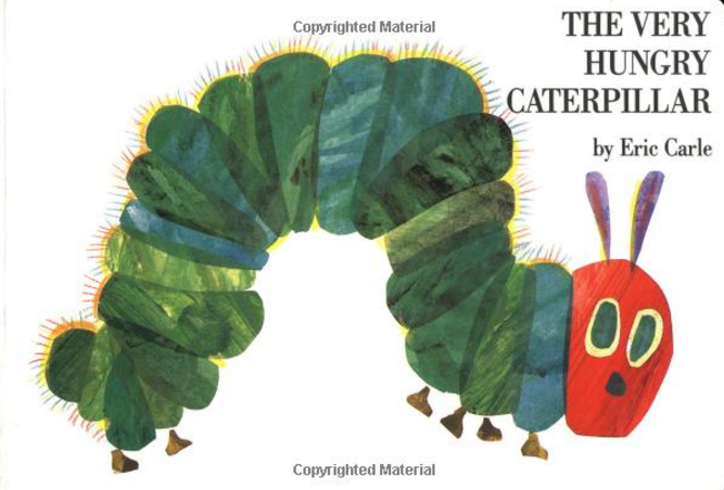 Eric Carle The Very Hungry Caterpillar – Available in 4 Styles