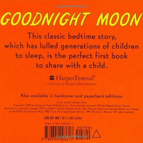 Margaret Wise Brown Goodnight Moon