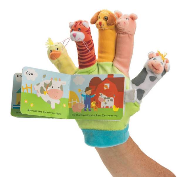 Scholastic Baby Puppet Finger Book
