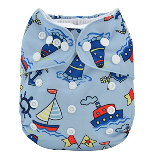 Alva Printed Re-usable Cloth Diaper