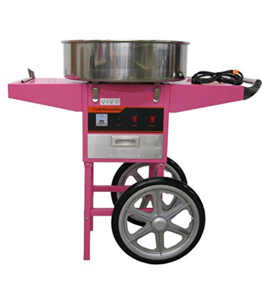 VIVO Cotton Candy Machine & Cart