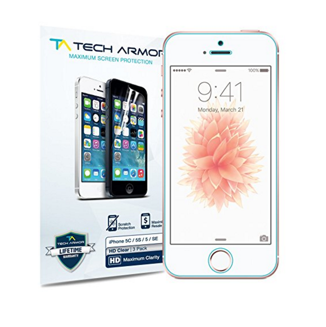Tech Armor HD Clear Screen Protector