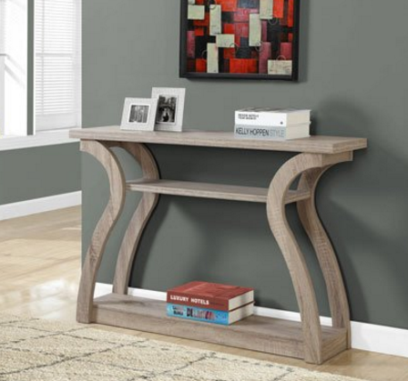 "Monarch Hall Console Accent Table, 47"" – Available in 2 Colors"