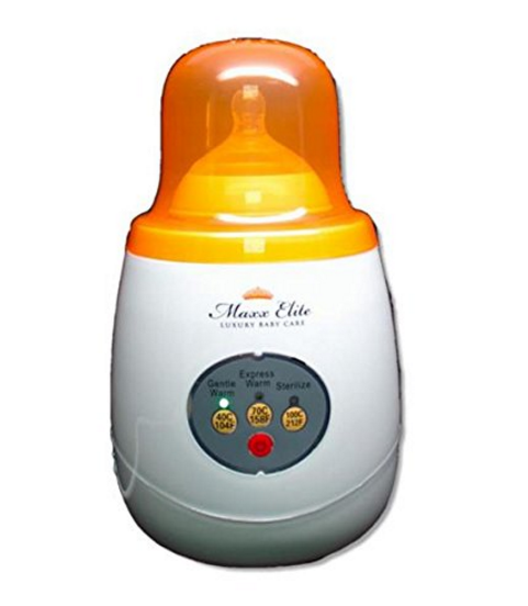 "Maxx Elite ""Gentle Warm"" Bottle Warmer & Sterilizer with ""Steady Warm"" – Available in 2 Colors"