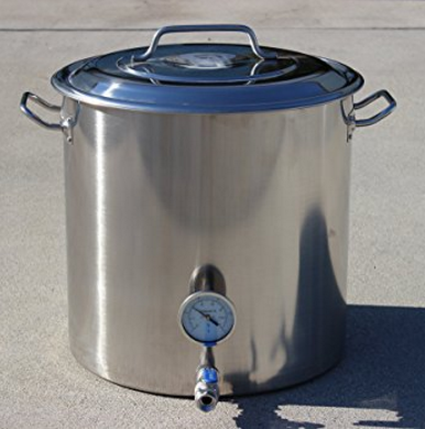 Concord Cookware Stainless Steel Home Brew Kettle Stock Pot – Available in 5 Sizes
