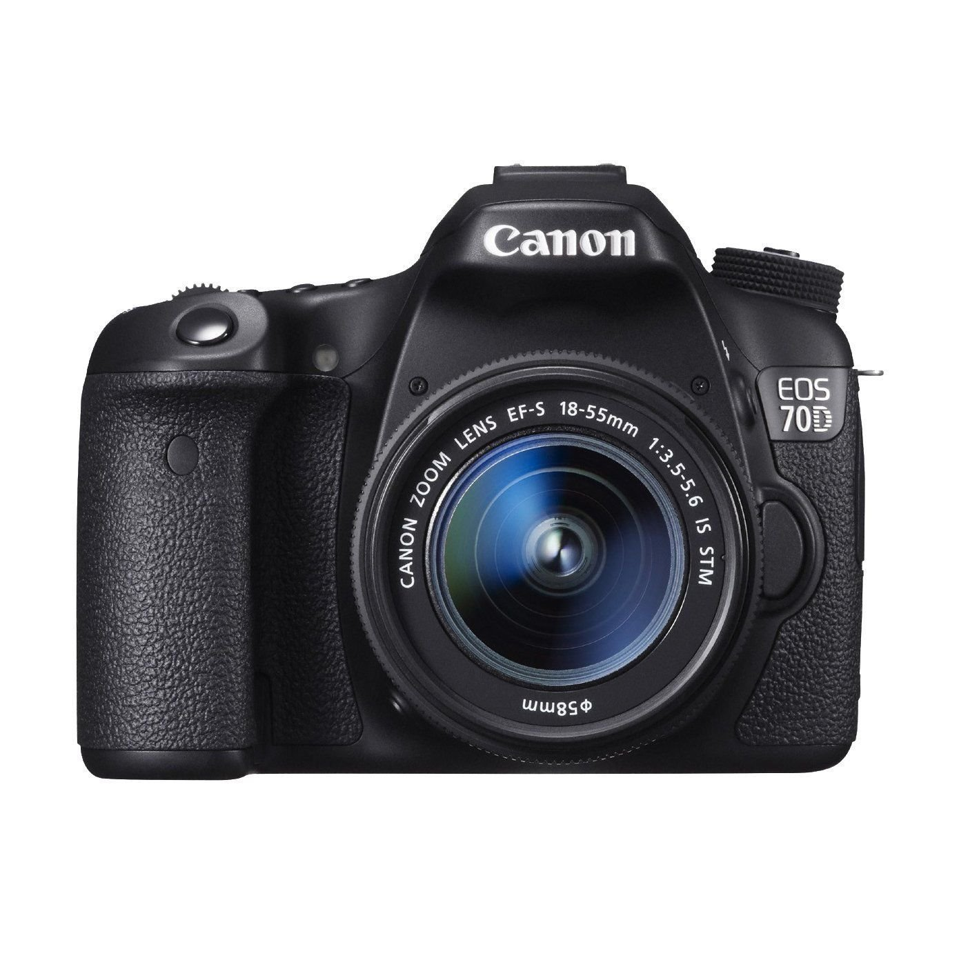 Canon EOS 70D 20.2 MP AF Full HD 1080p DSLR Camera Bundle – 4 Bundles Available