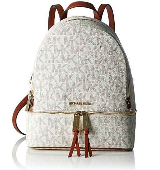 Michael Kors Rhea Leather Backpack