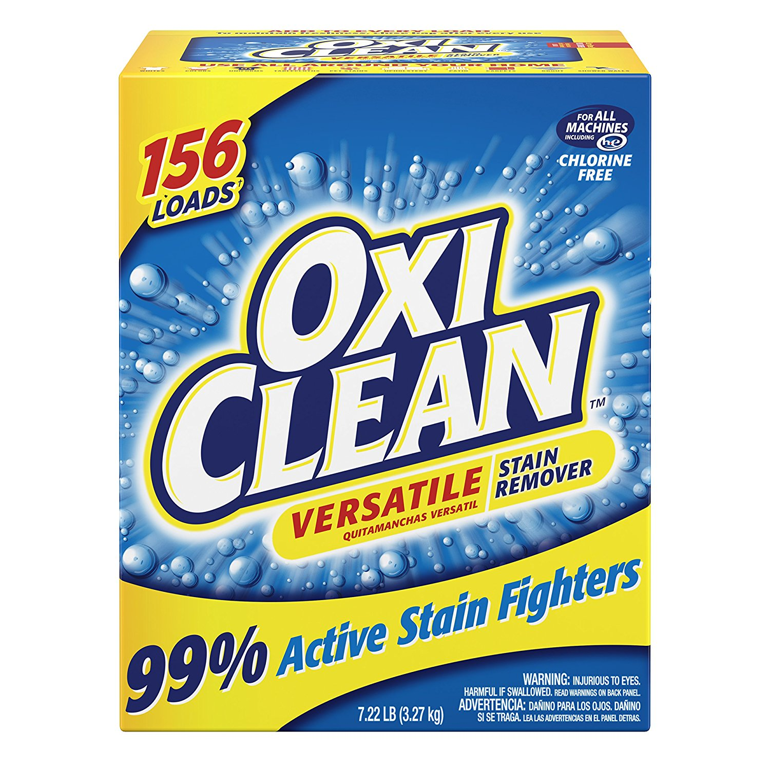 OxiClean Versatile Stain Remover – 7.22lbs – Available in 2, 3 or 4 Packs