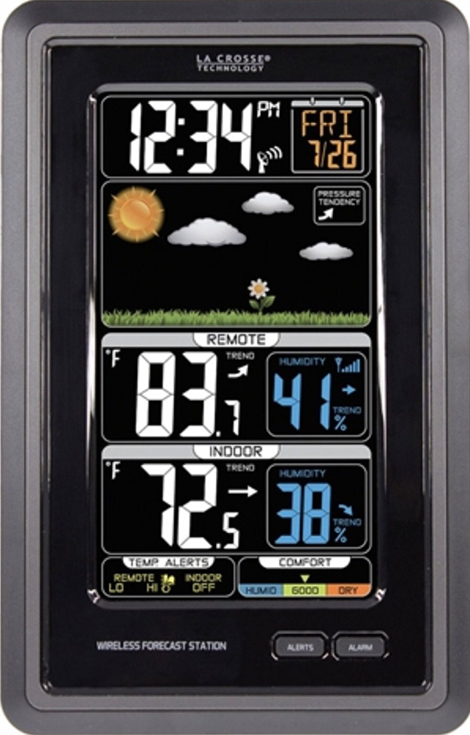 La Crosse Technology S88907 Wireless Color Weather Station