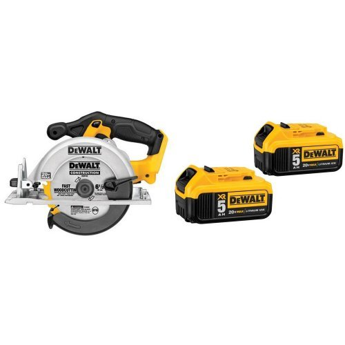 DeWalt 20-Volt MAX Li-Ion Circular Saw, Tool Only – Also Available with Battery or Blade