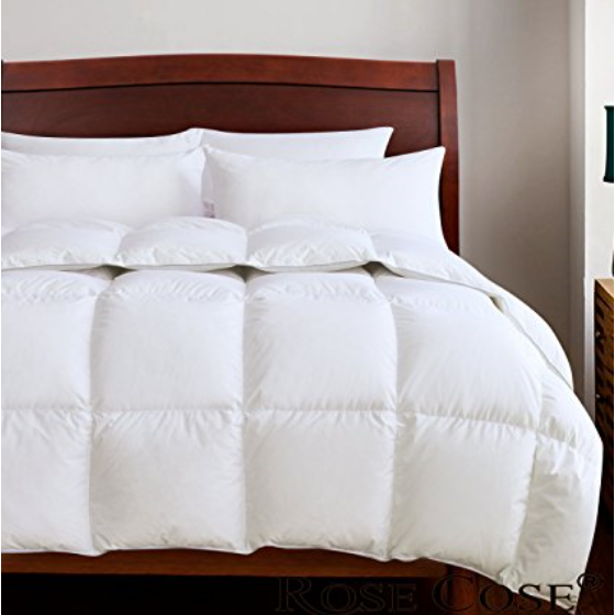 ROSECOSE Luxurious Goose Down Comforter