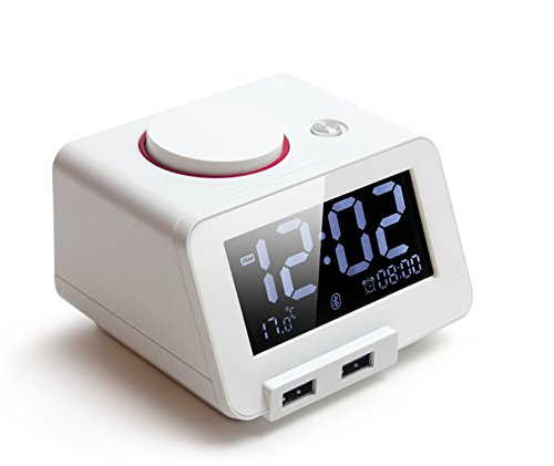 Homtime All-in-one Alarm Clock