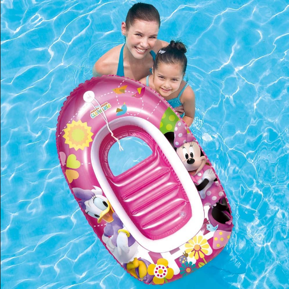 Disney Junior Minnie Mouse Inflatable Infant Toddler Float