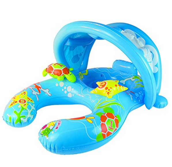 Poolmaster Mommy & Me Baby Rider Swim Float